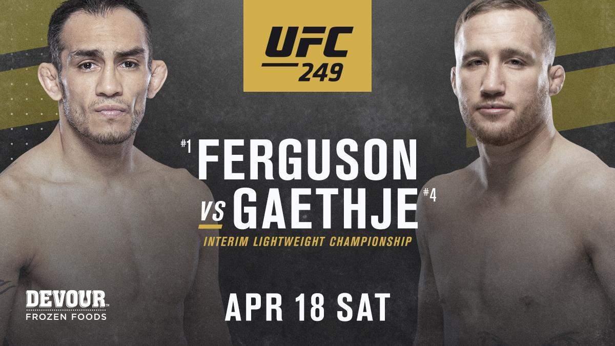 UFC 249 бой 18.04.2020 – кто соперник Тони Фергюсона