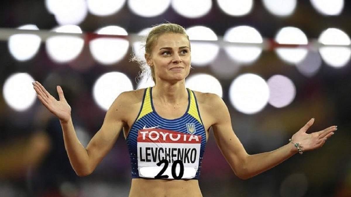Звездный Роналду оценил челлендж от украинской легкоатлетки Левченко