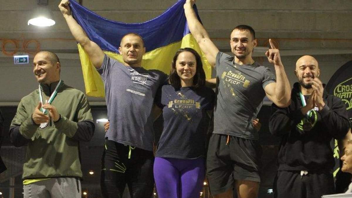Українські волонтери стали кращими на міжнародному чемпіонаті з кросфіту