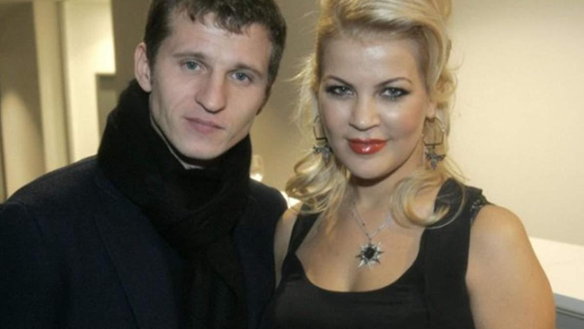 Александр Алиев с бывшей женой Татьяной