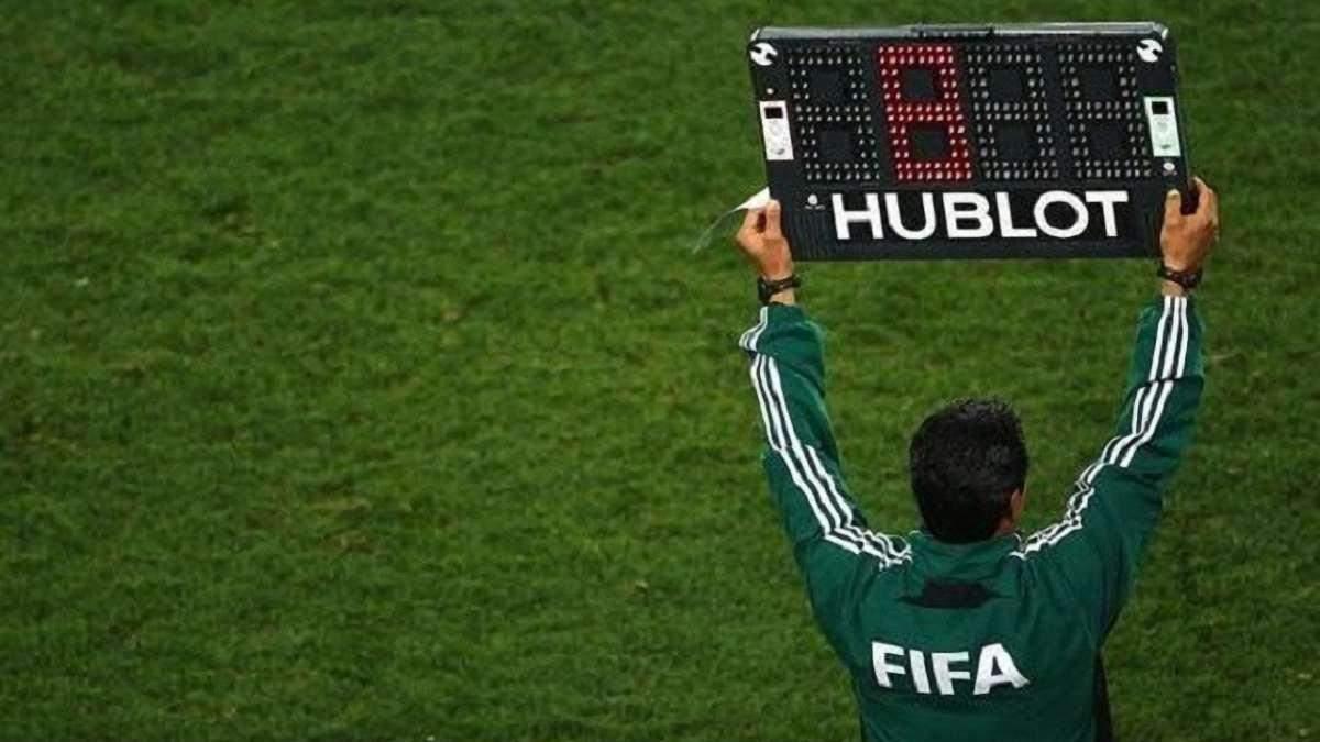 Правило замены в футболе