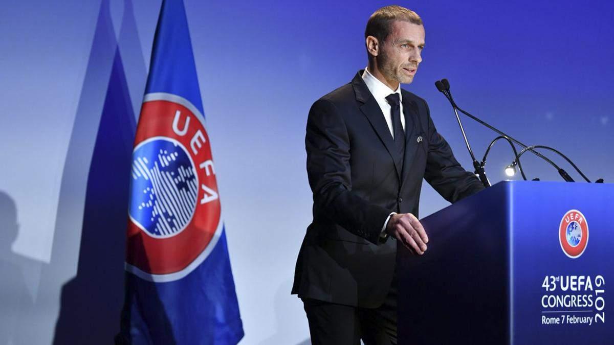 УЄФА дав УПЛ менше місяця, щоб представити план завершення сезону