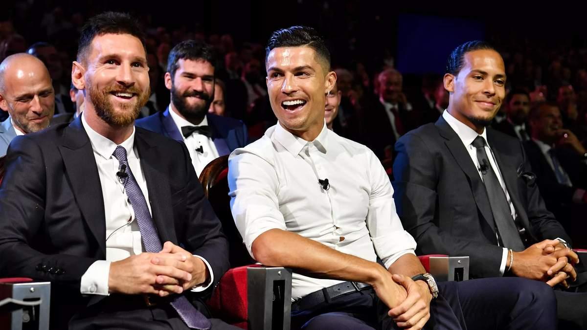 Месси или Роналду: назван лучший футболист 21 века