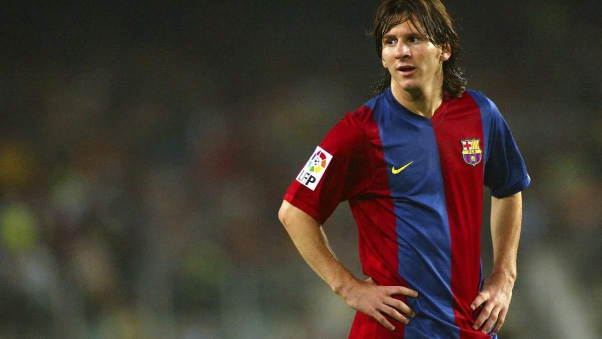 """Початок ери генія: 15 років тому Мессі забив свій перший гол за """"Барселону"""" – відео"""