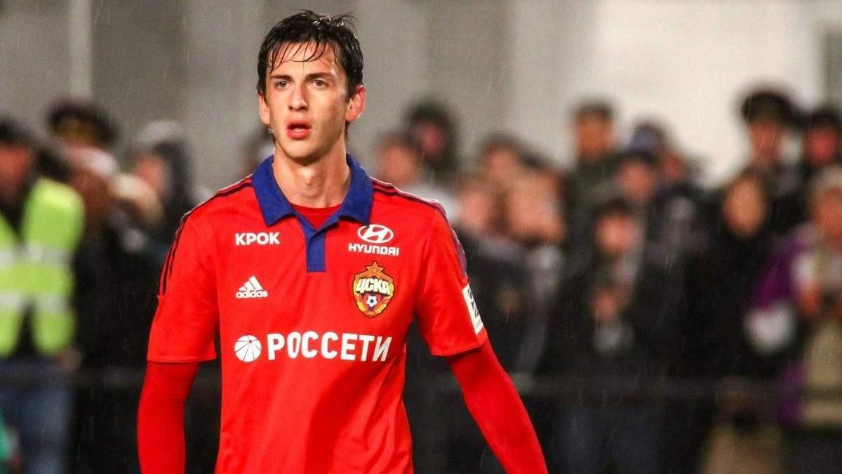 Російський футболіст влаштував ДТП, намагаючись втекти від поліцейської погоні: відео