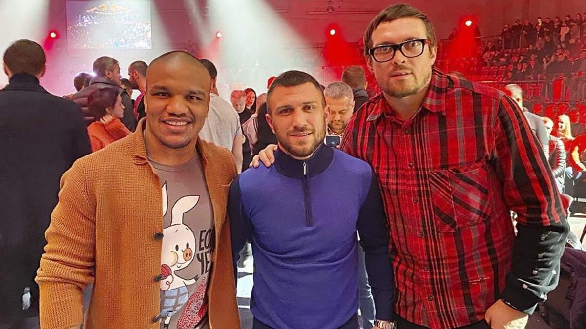 Беленюк ответил на заявление Усика о женщинах в боксе
