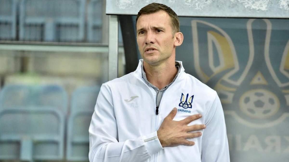 Стало відомо, коли Шевченко може покинути збірну України