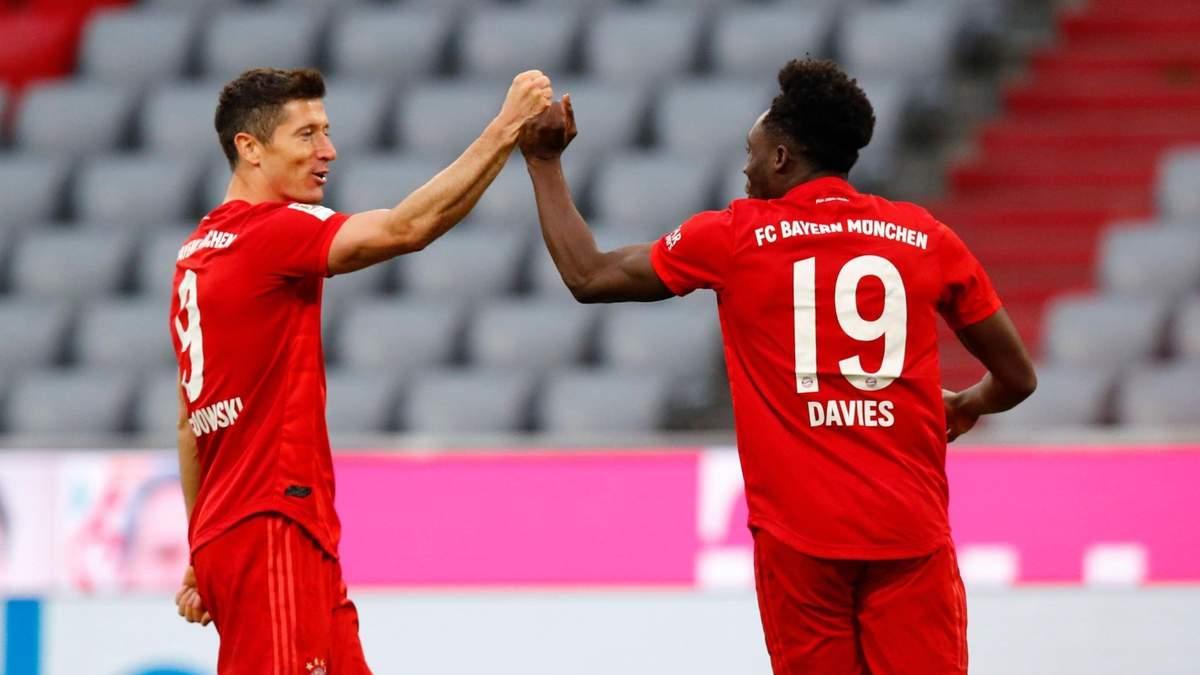 Баварія – Фортуна: огляд, рахунок, відео голів матчу – 30 травень 2020