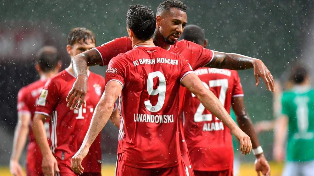 Вердер – Баварія: огляд і рахунок матчу 16 червня 2020