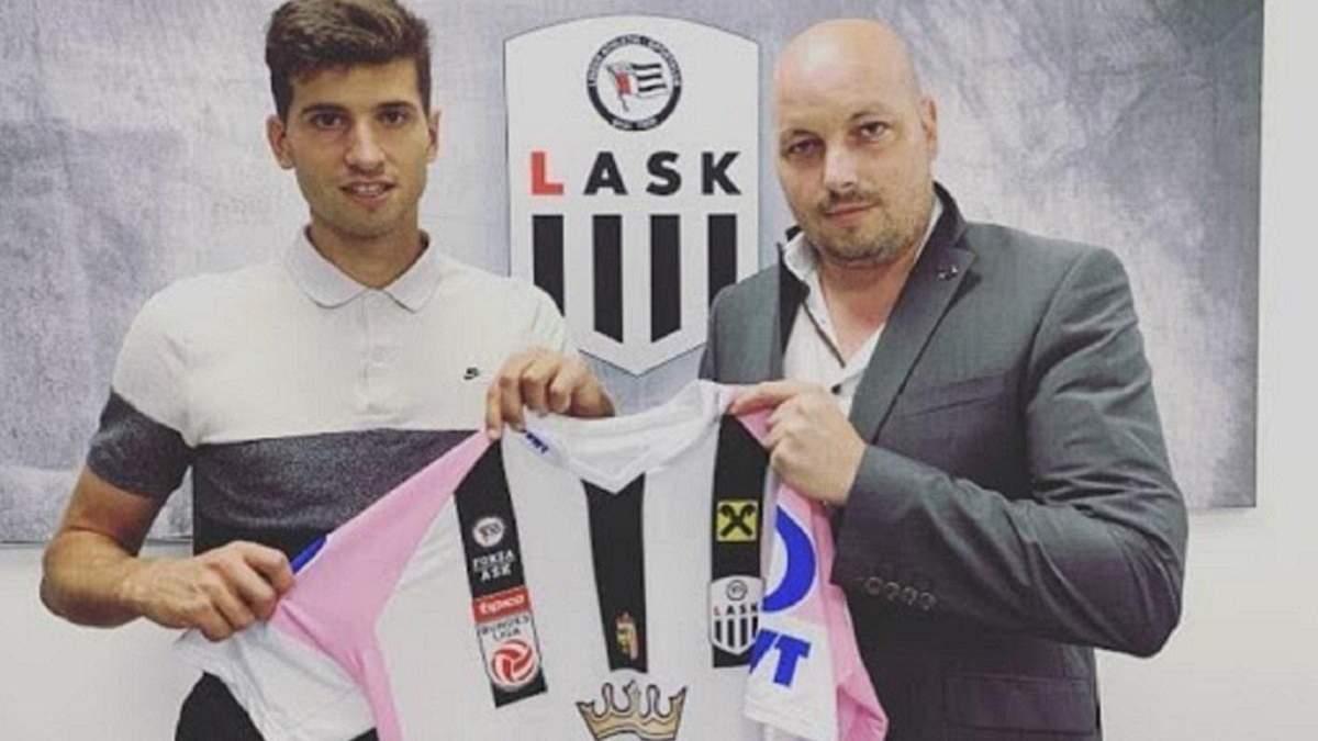 Футболист Зари Евгений Чеберко перешел в ФК ЛАСК