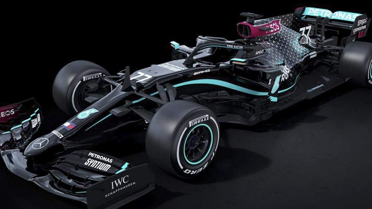 Mercedes змінив ліврею
