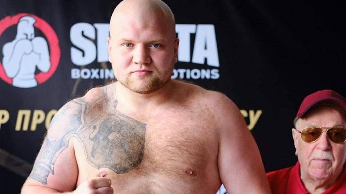 Український супертяж Шевадзуцький брутально нокаутував суперника у першому раунді: відео