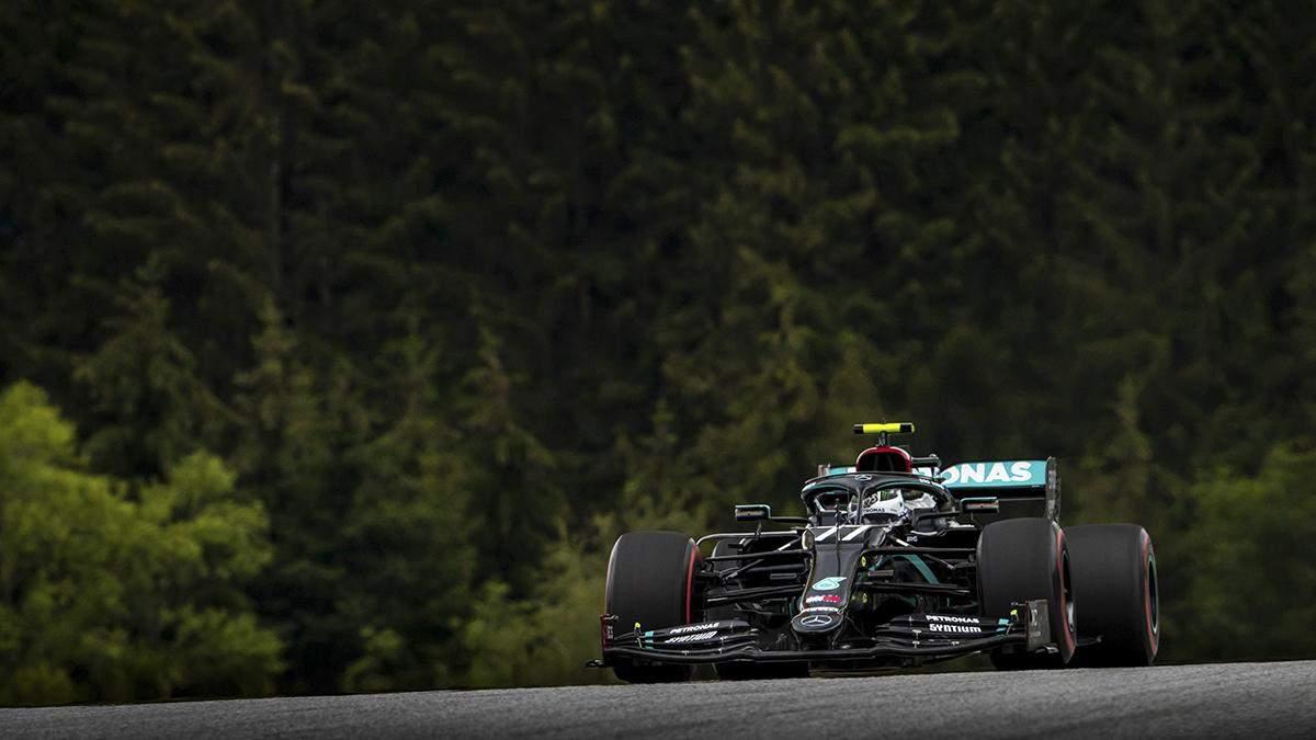 Формула-1: Боттас несподівано виграв перший у сезоні поул на гран-прі Австрії