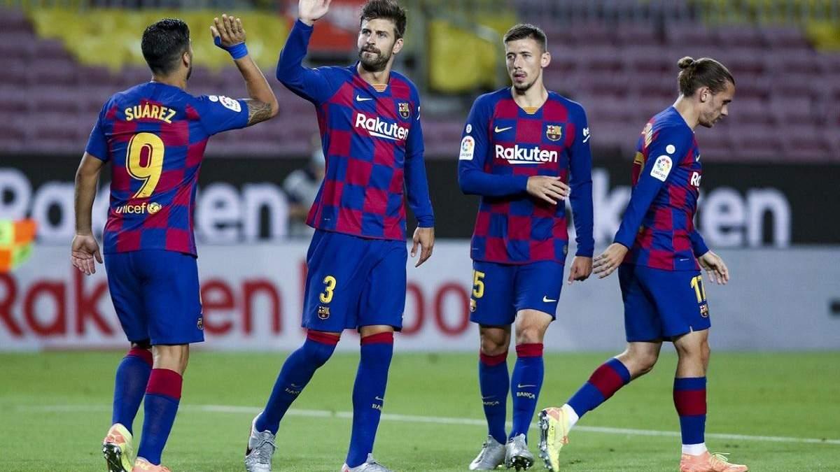 """""""Барселона"""" вирвала мінімальну перемогу у надскладному матчі проти """"Еспаньйолу"""": відео"""