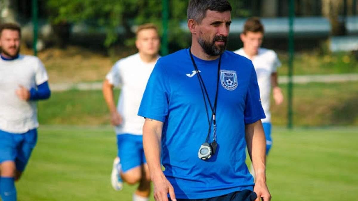 Бывший футболист сборной Украины возглавил одного из лидеров чемпионата