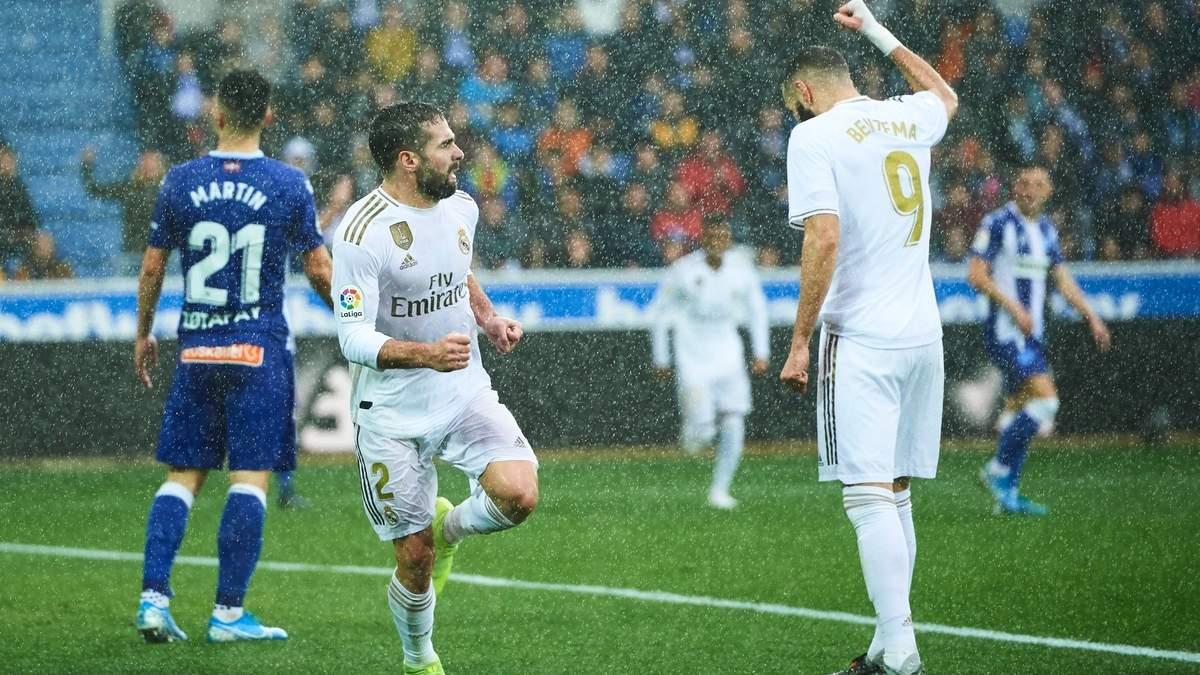 """""""Реал"""" наблизився до чемпіонства в Ла Лізі після перемоги над """"Алавесом"""": відео"""