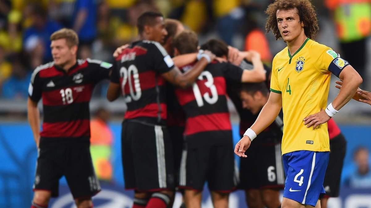 """Найганебніша поразка Бразилії: шість років тому Німеччина розбила """"пентакампіонів"""" на Мундіалі"""