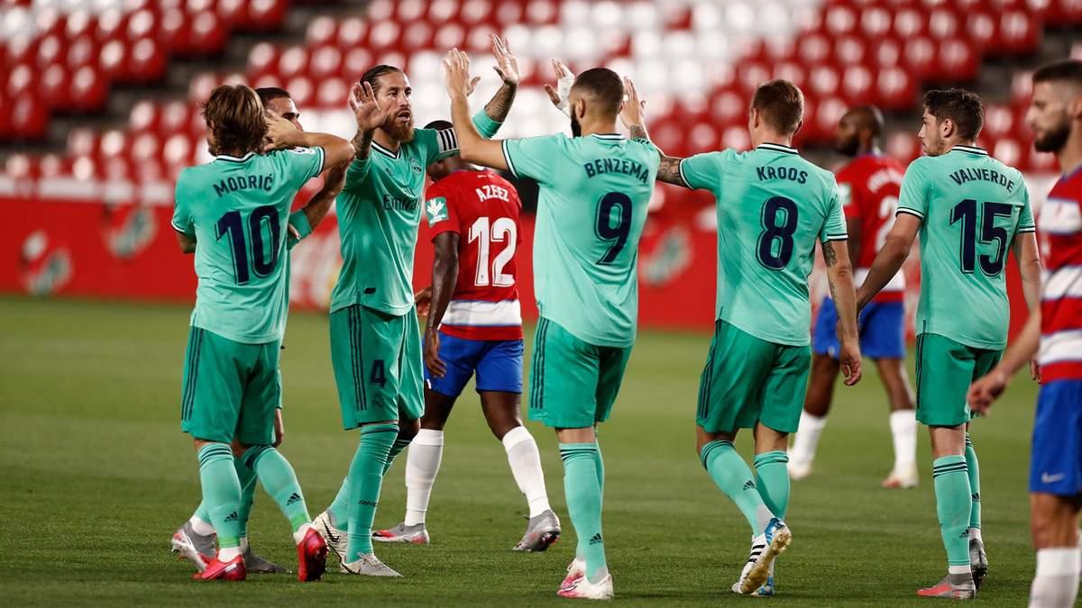 Гранада – Реал: огляд, рахунок, відео матчу 13.07.2020 – Ла Ліга