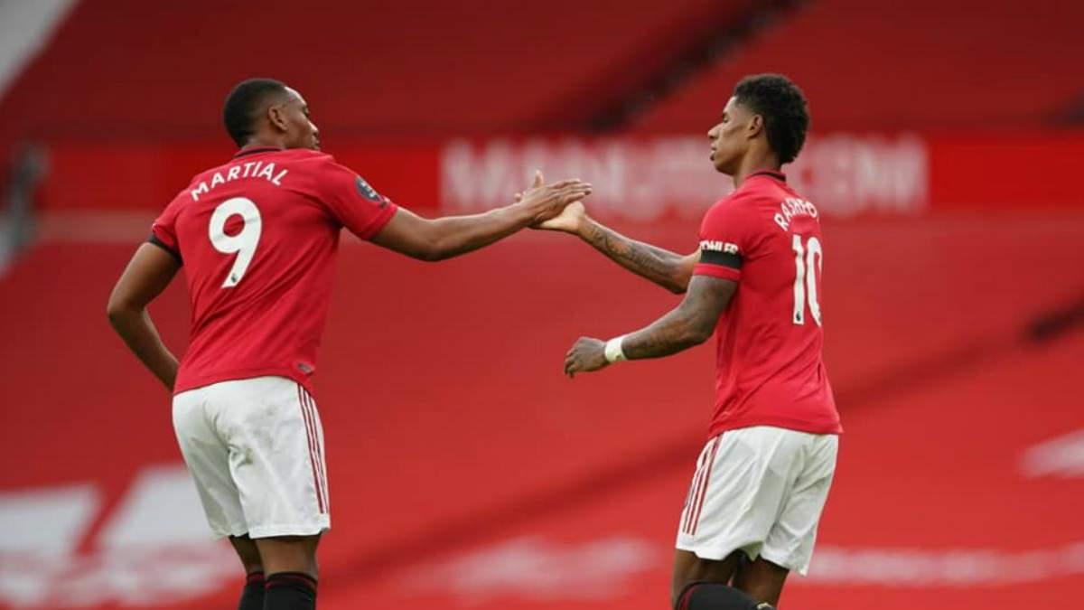 """""""Манчестер Юнайтед"""" зіграв внічию з """"Саутгемптоном"""", пропустивши гол на 90+6 хвилині: відео"""