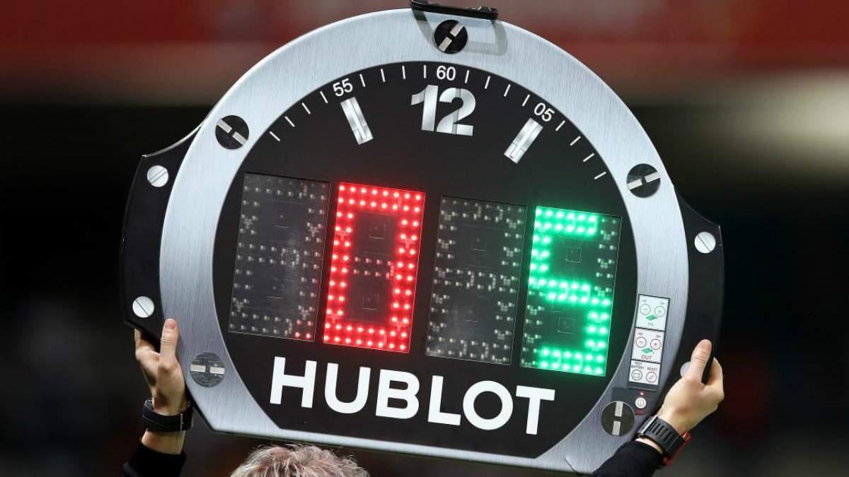 У ФІФА прийняли рішення щодо правила п'яти замін під час матчу