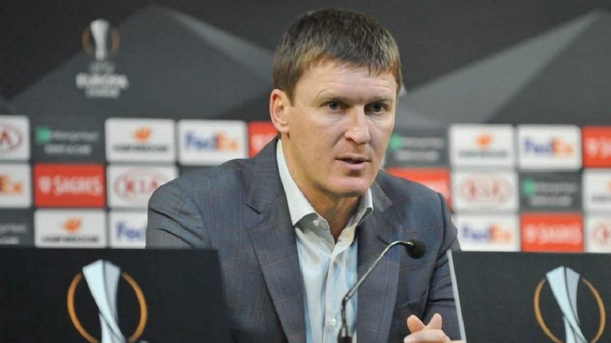 """Екстренер """"Ворскли"""" Сачко подав до суду на колишню команду, яку вивів у Лігу Європи"""