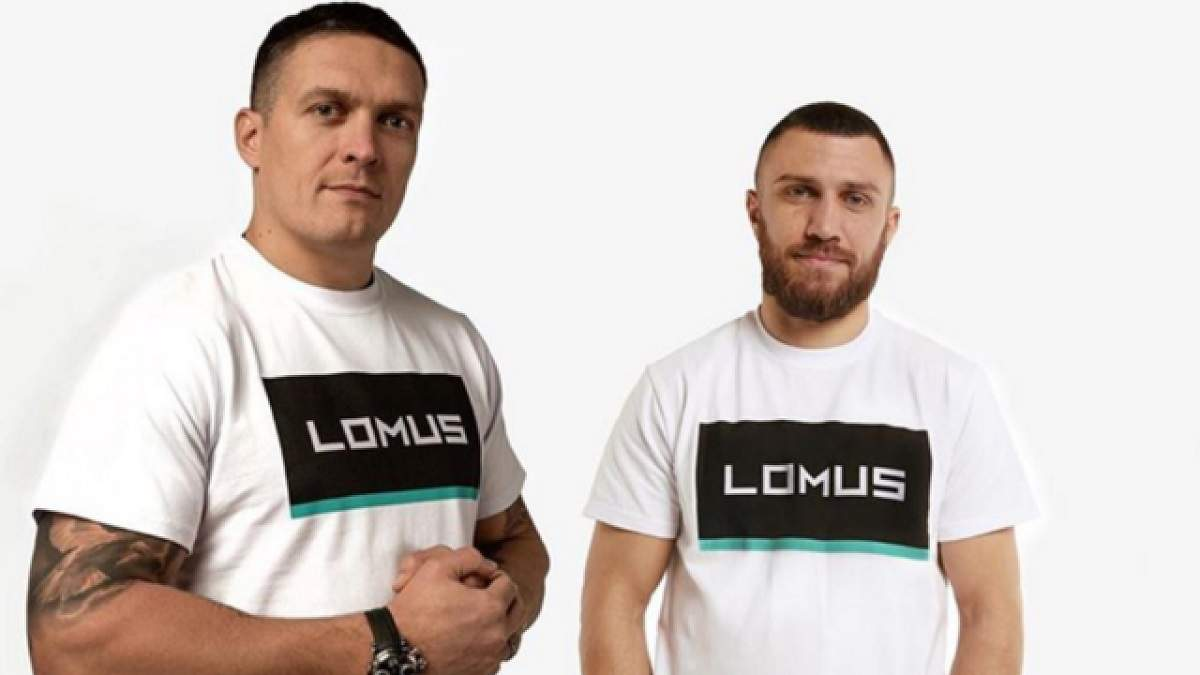 Усик і Ломаченко провели незвичне тренування на воді: фото
