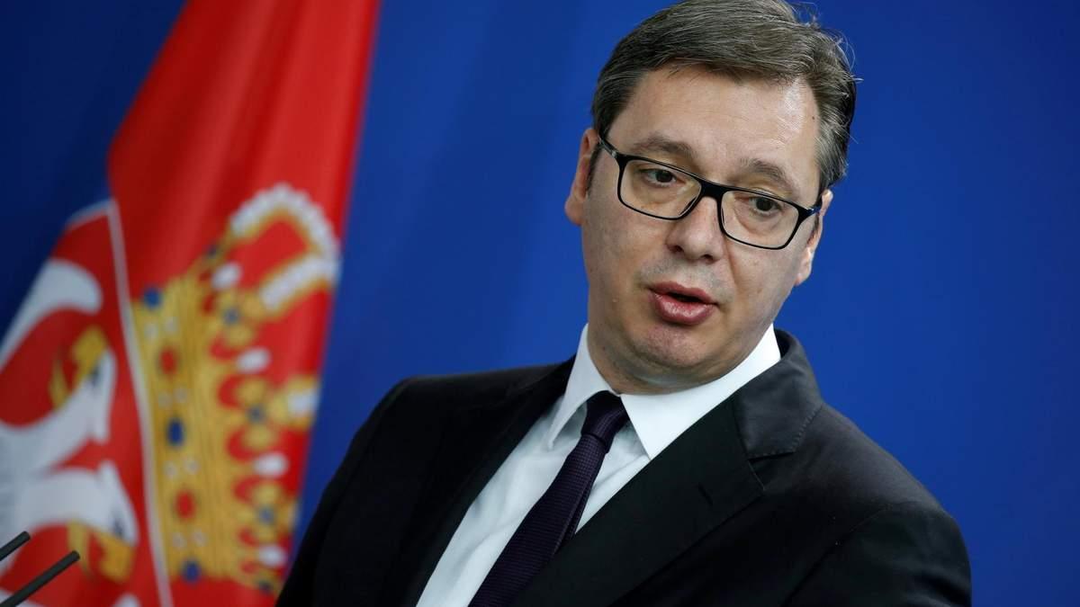 Президент Сербії Вучич вирішив стати баскетбольним тренером