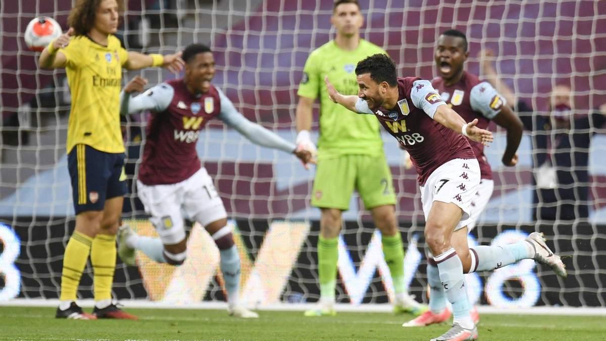 Астон Вілла – Арсенал: огляд, рахунок, відео матчу 21.07.2020