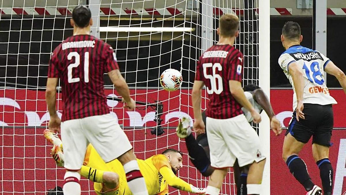 Милан – Аталанта: обзор, счет, видео матча 24.07.2020