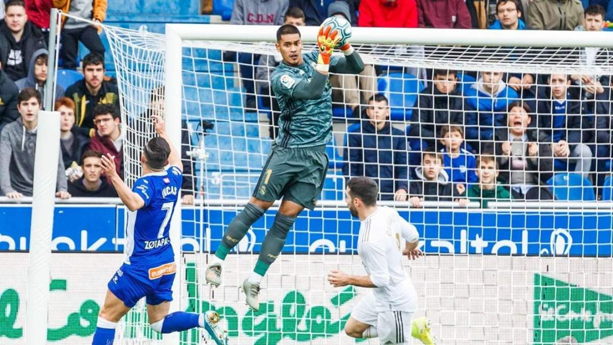 """Шанс для Лунина: вратарь """"Реала"""" приобрел дом в Лондоне"""
