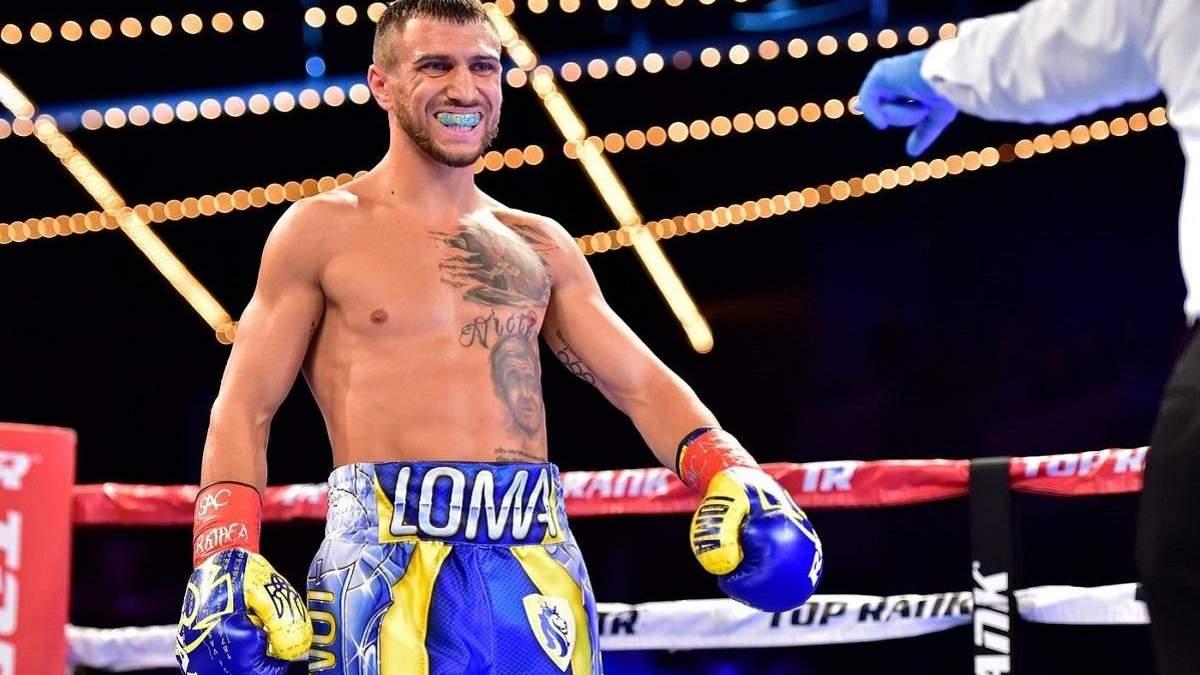 Повертайся у боксерський зал та будь готовий: Ломаченко відповів на зухвалу заяву Лопеса
