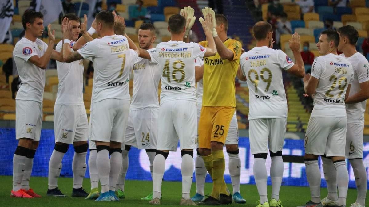 """""""Колос"""" розгромив """"Дніпро-1"""" та зіграє у фіналі плей-офф за право виступити в Лізі Європи: відео"""