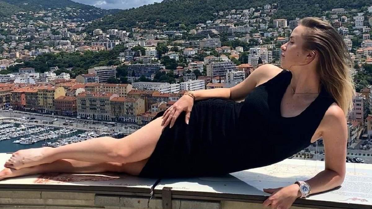 Розкішна Світоліна похизувалась спокусливими фото на яхті посеред моря