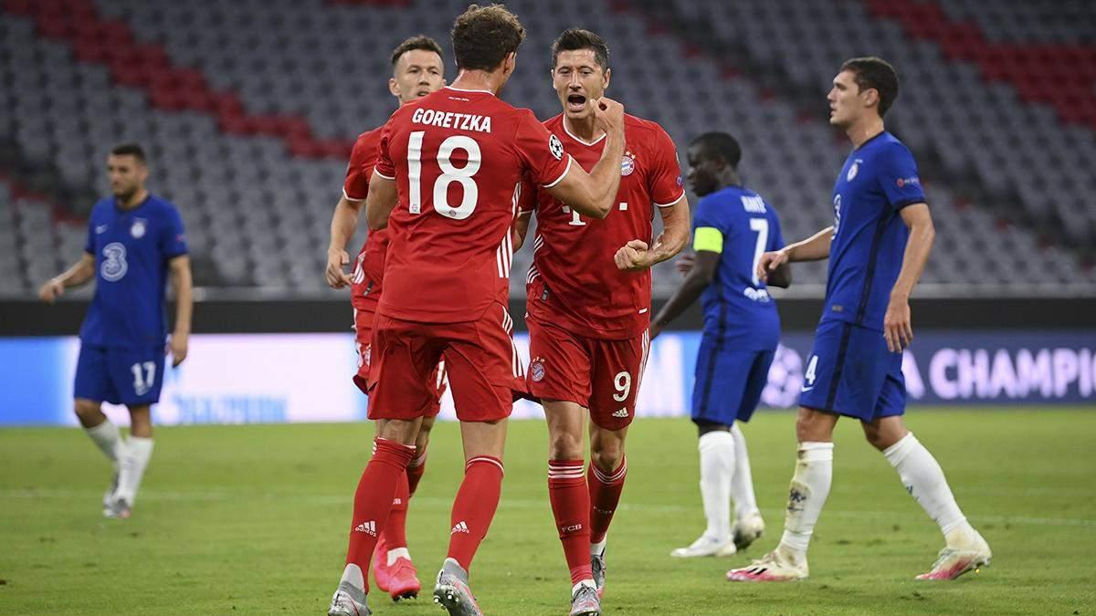 Бавария – Челси: обзор, счет, видео матча 08.08.2020