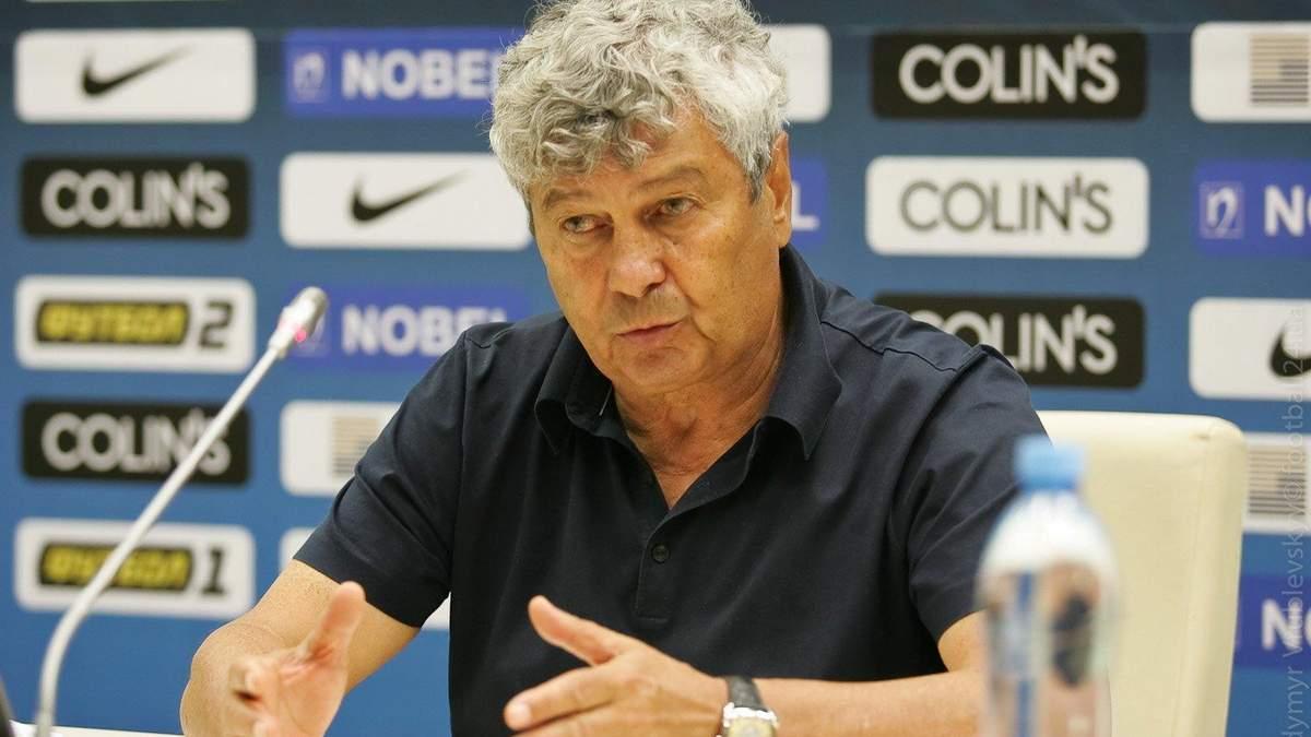 Луческу подал в отставку с должности тренера Динамо – детали