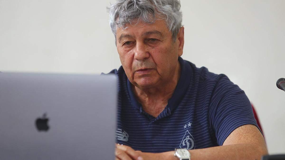 """Луческу о том, планирует ли кардинальную перестройку в """"Динамо"""""""