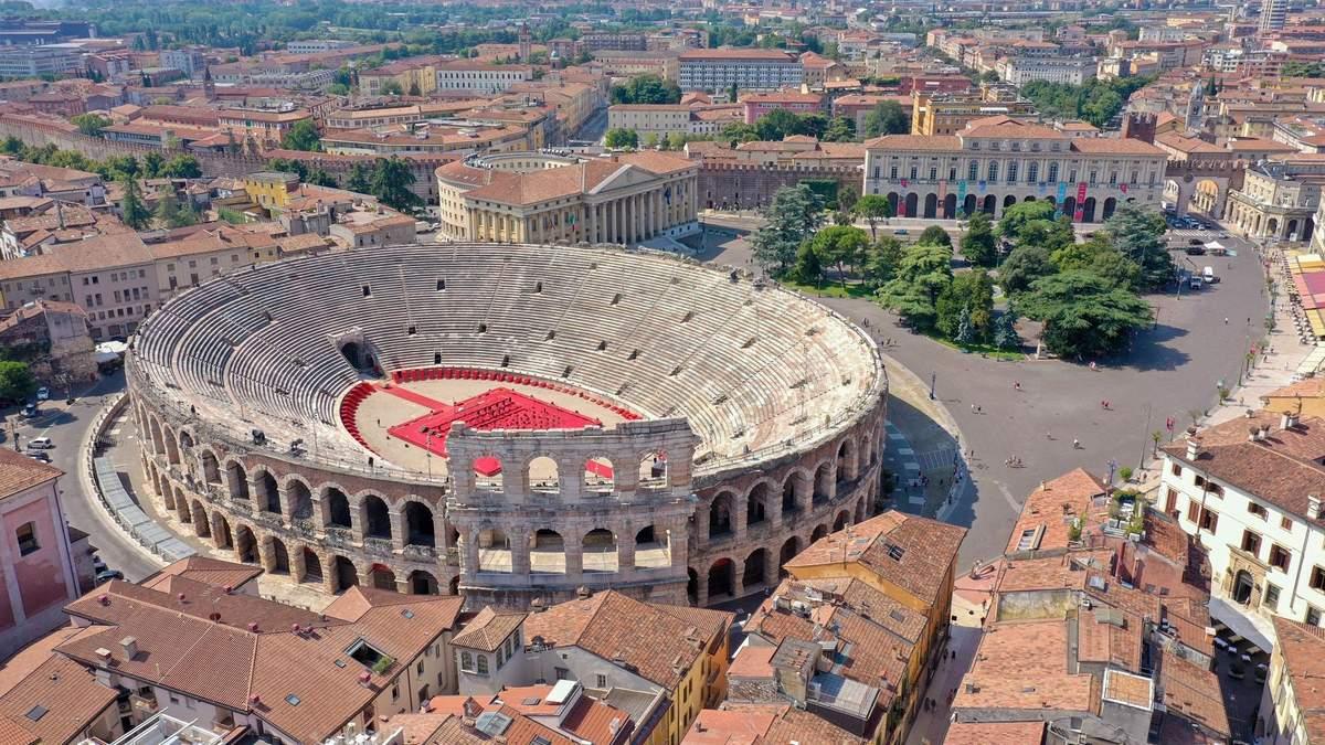 Матч за Суперкубок Італії зіграють на античному амфітеатрі: фото