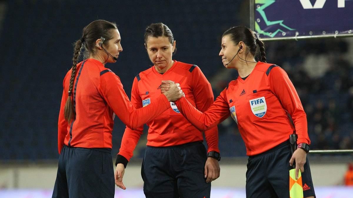 Українська арбітриня Монзуль працюватиме на фінальному турнірі жіночої Ліги чемпіонів