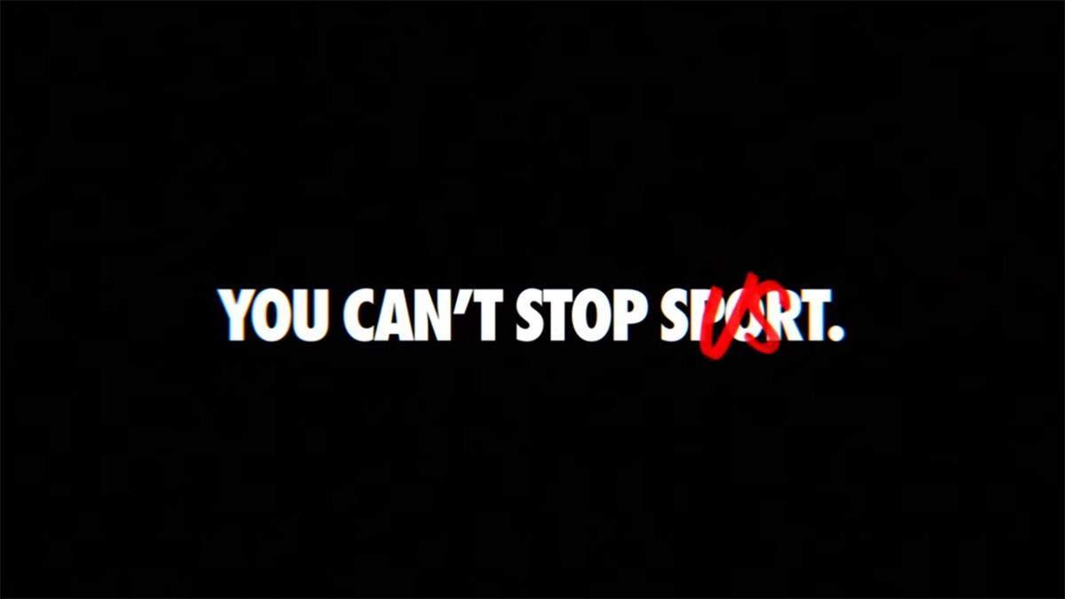 Ви не можете зупинити спорт: Nike представив нову рекламу