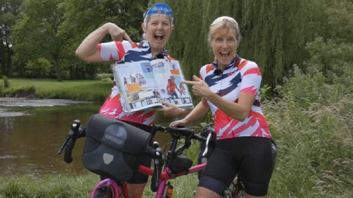Навколосвітня подорож на велосипеді: дві британки побили шалений світовий рекорд – відео