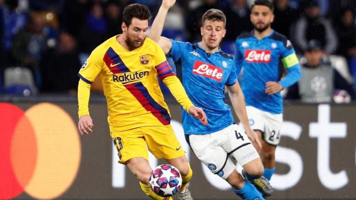 Барселона – Наполи: где смотреть матч 08.08.2020 – ЛЧ