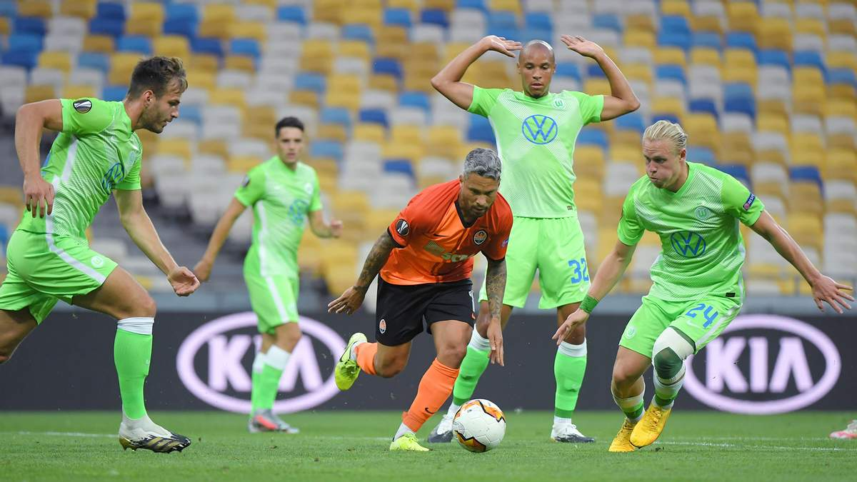 Шахтер – Вольфсбург: обзор, счет, видео матча 05.08.2020