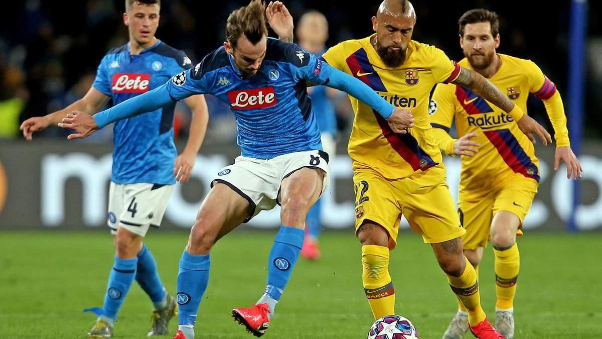 Барселона – Наполи: прогноз, ставки на матч 08.08.2020 – ЛЧ
