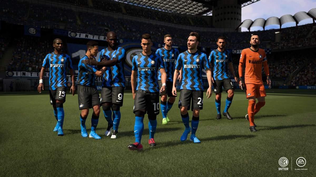 """""""Інтер"""" та """"Мілан"""" будуть ексклюзивно представлені в FIFA 21"""