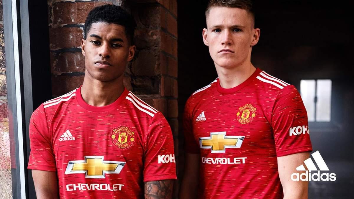 "Форма ""Манчестер Юнайтед"" на сезон 2020/21"