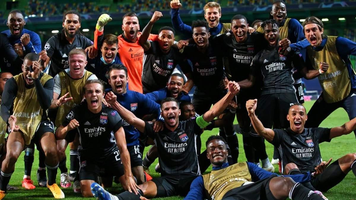 Кто вышел в 1/2 финала Лиги чемпионов