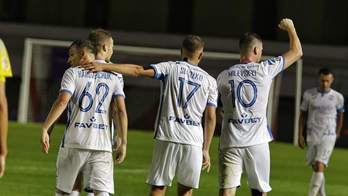 Мілевський віддав два паси в матчі Ліги чемпіонів