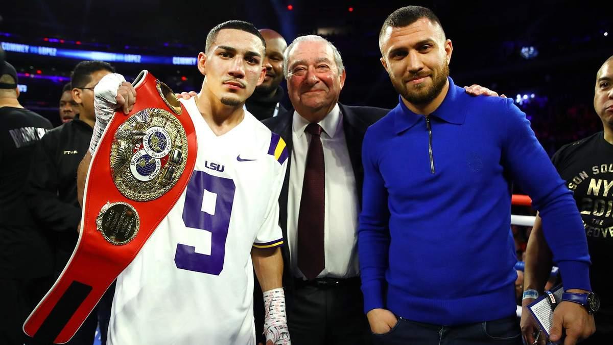 Ломаченко – Лопес промо бою за титули WBC, WBA, WBO, IBF – відео