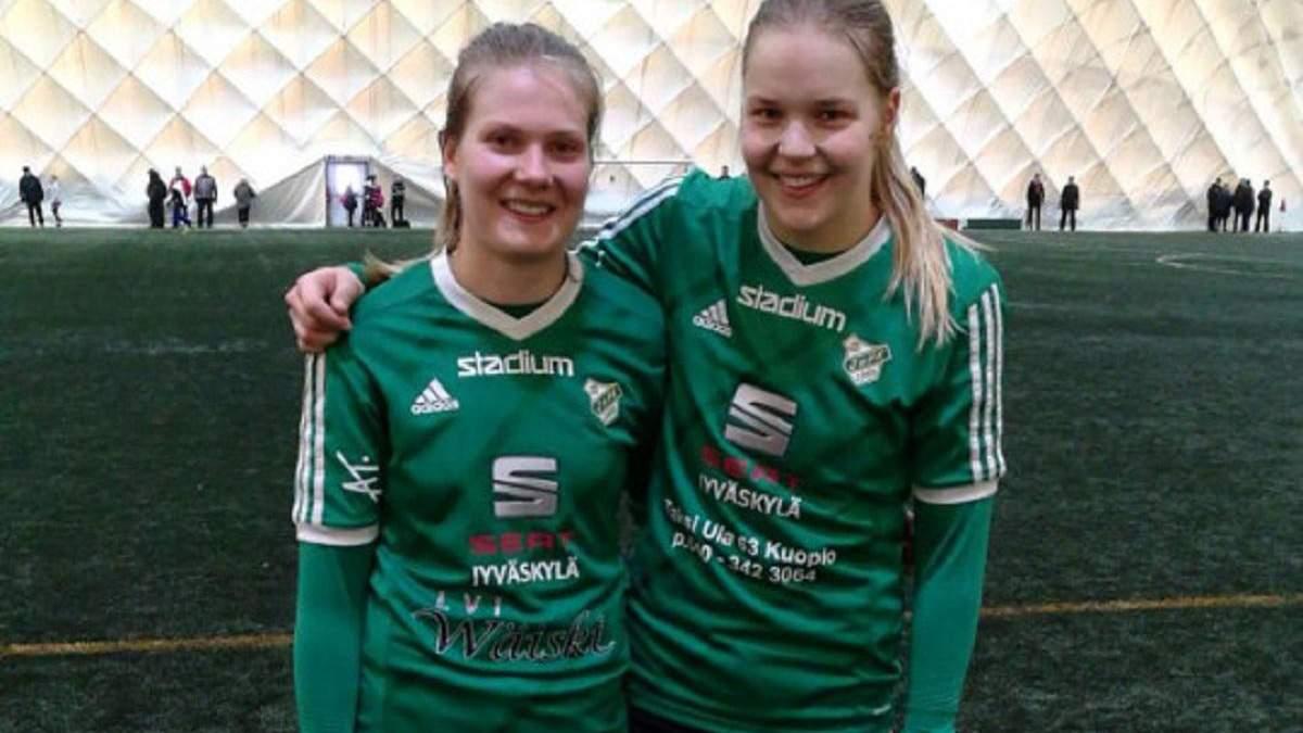 Хенна Хонканен (праворуч)