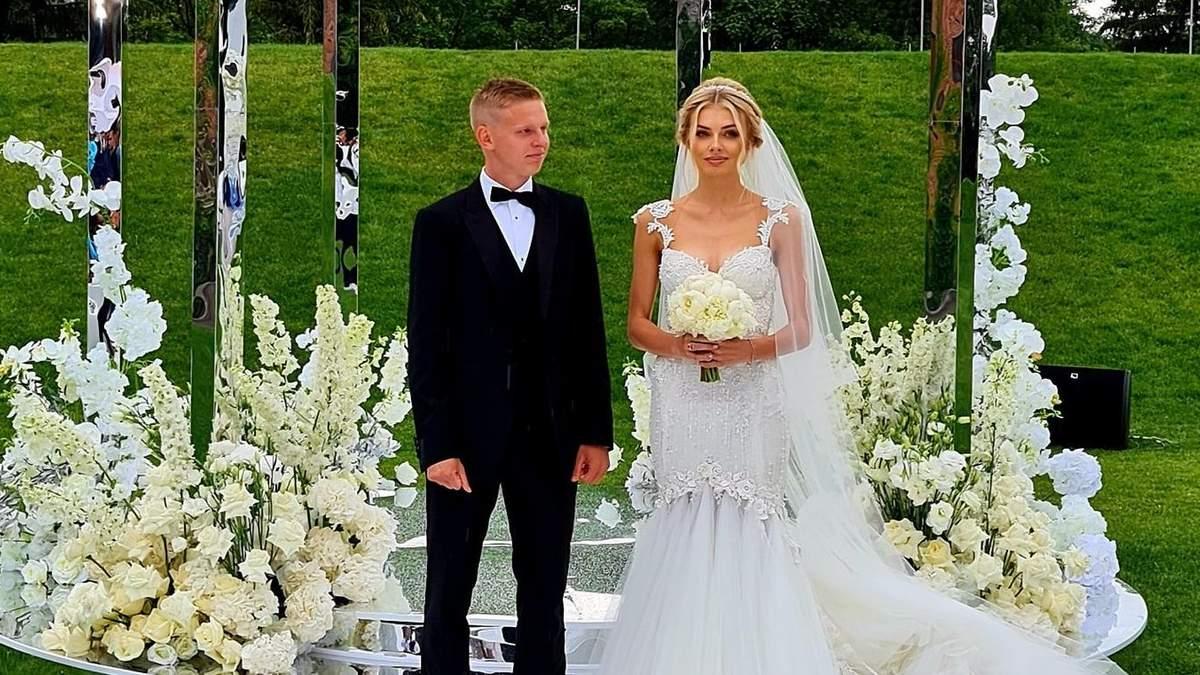 Весілля Олександра Зінченка та Влади Седан